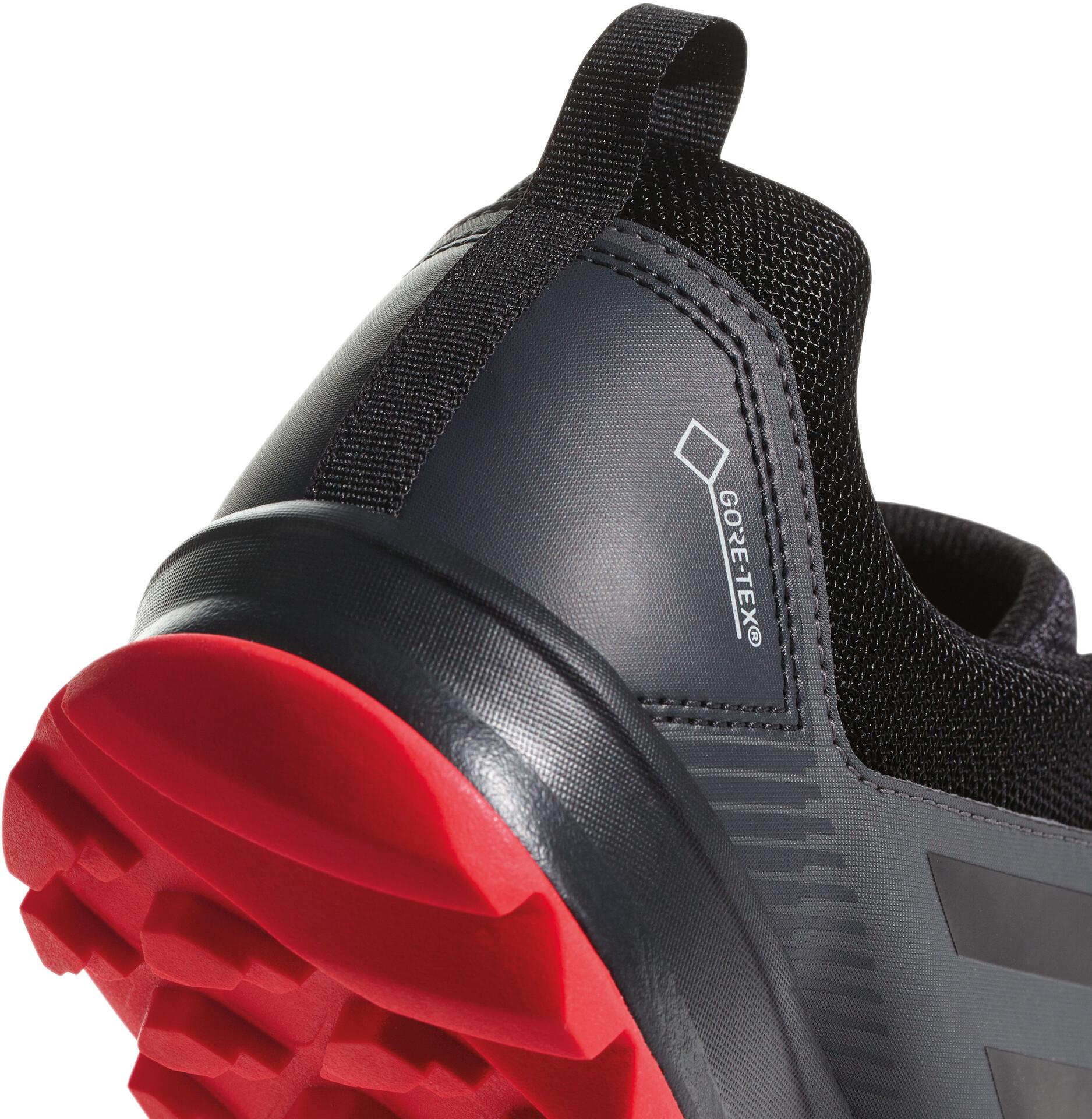 Adidas terrex tracerocker gtx scarpe da corsa uomini grigi a
